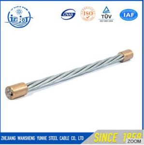 Hot Selling 3/8 Inch Guard Wire Steel Guard Cable Guy Wire Galvanized Steel Wire ASTM 475 Class a pictures & photos