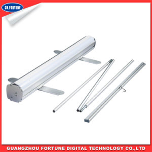 Good Quality Clip Cross Bar Aluminum Roll up Stand pictures & photos