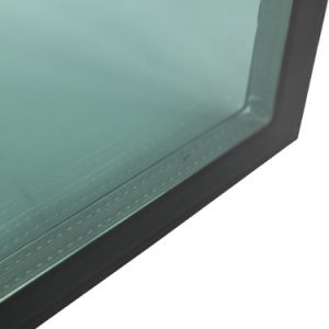 Green Low E Insulated Window Glazing Pane Building Facade Glass pictures & photos