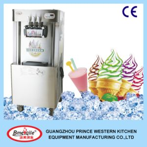 Actory Price 2+1mixed Flavours Commercial Rainbow Soft Ice Cream Machine pictures & photos