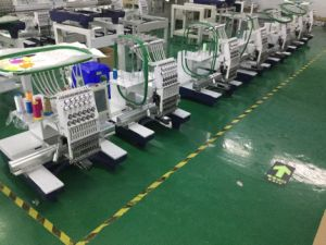Hot Sale Tang Computer Embroidery Machine Single Head pictures & photos