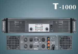 Professional Stage High Power Amplifier (T-1000) pictures & photos