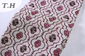 Fabric Jacquard for Furniture Small Cute Flowers pictures & photos