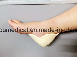 Foryou Medical Wound Dressing Heel Foam Diabetic Foot Wound Treatment Optifoam Non-Adhesive Heel Dressing pictures & photos