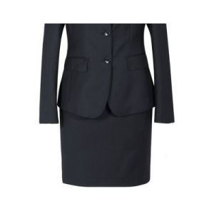 70% Wool and 30% Polyester Formal Business Suit for Woman pictures & photos