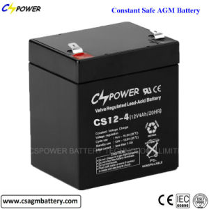 12V4ah/12V4.5ah/12V5ah Deep Cycle Lead Acid Rechargeable UPS Battery pictures & photos