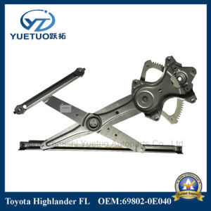 Machinery Parts Window Regulator Highlander Front Left OEM 69802-0e040 pictures & photos
