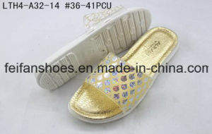 Cheap Price Casual Flip Flops Softable Slippers Women Sandals (FFLT1017-03) pictures & photos