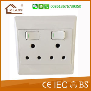 2016 New South Africa Brazil 2.1A Standard Electric Wall Socket pictures & photos