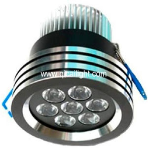 7X1W High Power LED Downlight (QC-DL-7X1W-95mm-B9) pictures & photos