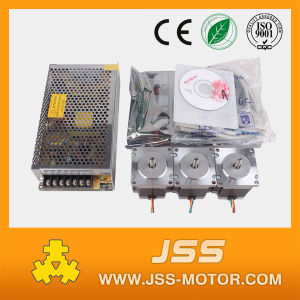 3axis NEMA23 Stepper Motor 425oz-in for CNC Controller Kit pictures & photos
