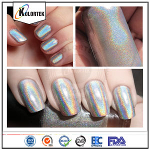 Silver Holo Pigment, Holographic Pigment for Nail Polish pictures & photos