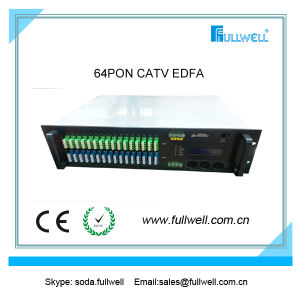64 Ports Gepon CATV Wdm EDFA Combiner for Triple Play Network pictures & photos
