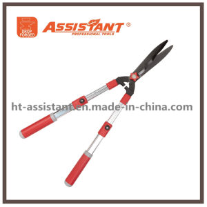 Garden Trimmers Titanium Coated Hedge Shears with Extendable Aluminum Handles pictures & photos