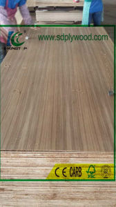 Fancy Plywood Burma Teak Straight Grain 3.6mm Combi Core pictures & photos