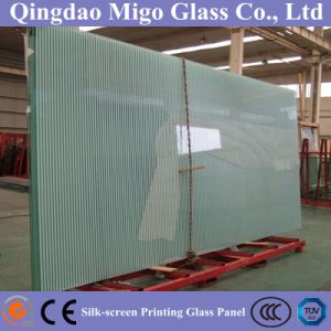 Toughened Silk Screened Glass for Building Interior Decoration pictures & photos
