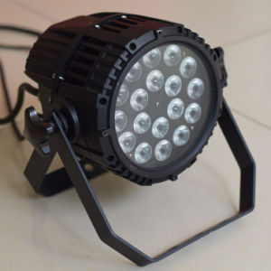 IP65 Waterproof 18X10W RGB 3in1 Zoom LED Stage Wash PAR Light for Outdoor pictures & photos