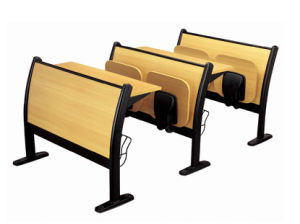 Fire-Proof Plate School Desk and Chair (RX-669) pictures & photos