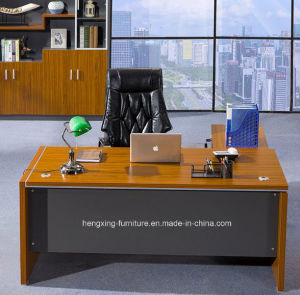 Modern Furniture Hotel Office MDF Wooden Executive Table (HX-NCD219) pictures & photos