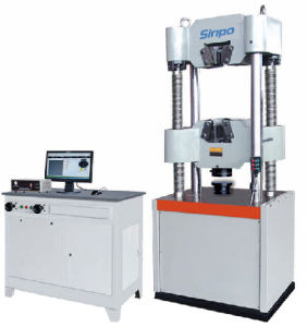 Microcomputer control electro-hydraulic servo universal testing machine of WAW-B series pictures & photos
