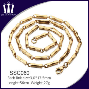 New Design Gold Jewellery Neck Golden Chain pictures & photos