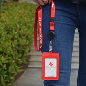 Custom Transfer Printing Country Flat Sport Logo Lanyard for Meeting pictures & photos