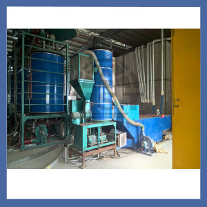 EPS Continuous Pre-Expander Foaming Machinery pictures & photos