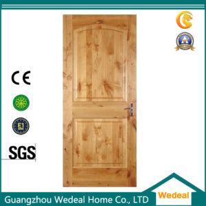 Solid Wooden Knotty Alder Door for Villa pictures & photos