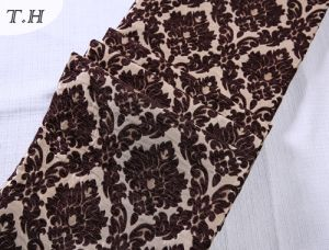 Chenille Sofa Fabric Floral Jacquard Fabric for Sofa and Furniture pictures & photos