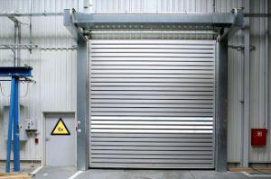 3*3 Polycarbonate Roller Shutter Tutorial Fast Acting Rapid Roll up Internal Door (Hz-FC356) pictures & photos