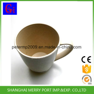 400ml 14oz Wheat Fiber Cup with Handle, Coffee Mug with Handle pictures & photos