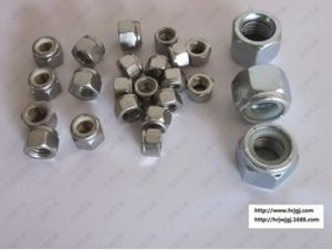 Metal Lock Nut, Metallic Hexagon Insert Hex Locking Nut M6~M36
