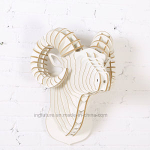 Manufacturers Selling Creative Home Wooden Crafts Argal Head pictures & photos