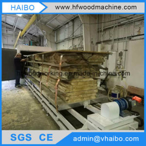 Drying Lumber by High Frequency Vacuum Wood Dryer Machine