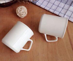 Directly Sale Custom Morden Design Ceramic White Cheap Mug pictures & photos