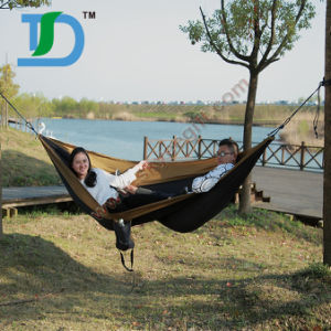Carries Parachute Nylon Camping Hammock with Carabiners pictures & photos