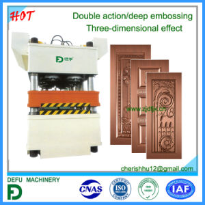 2800t Double Action Hydraulic Press for Door pictures & photos