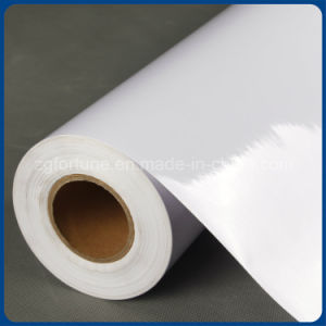 Water Base Inkjet Film Self Adhesive Vinyl White Glue Glossy pictures & photos
