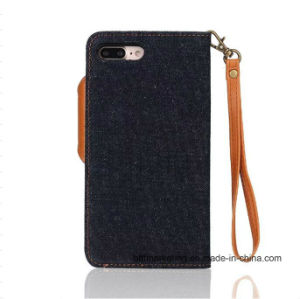 Detachable Jeans 2in1 Leather Wallet Phone Case for iPhone 7 and 7 Plus pictures & photos