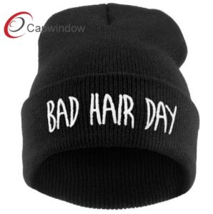 Capwindow Popular Black Knitted Hat pictures & photos