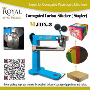 Corrugated Carton Stitcher Machine Stapler pictures & photos