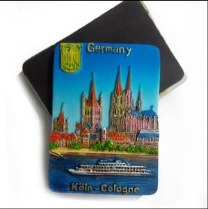 Heart Shaped Germany Tourist Souvenir Rsein Fridge Magnets pictures & photos