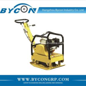 CBCR-160 -1 hand push vibratory stone plate loncin engine walker soil compactor pictures & photos