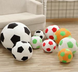 Body Support Plush Small Soccer Ball Emoji Pillow pictures & photos