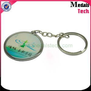 Custom Colorful Hollow out Car Key Chain with Box pictures & photos