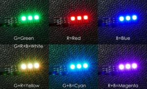 The RGB LED Board 5050/16V Is Designed for The Multi-Rotors & Fpv Quad-Rotors with 4s Lipo Power pictures & photos