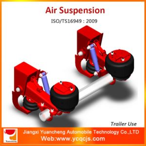 Round Axle Dependent Lifting Trailer Suspension with Best Bolt and Nut pictures & photos