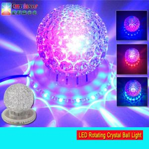 Mini RGB Rotating Crystal Magic Ball Effect Light LED Disco Party Colorful Light pictures & photos