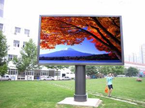 Outdoor P10 Full Color Video LED Advertising Screen Display pictures & photos