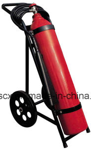 10kg/25kg CO2 Wheeled Fire Extinguisher pictures & photos